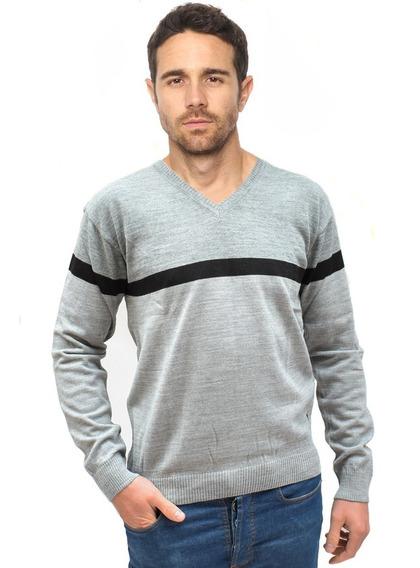 Sweater Hombre Estampado Varios Colores Algodon Pack X2