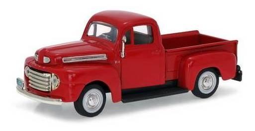 1948 Ford F-1 Pickup Vermelho - Escala 1:43 - Yat Ming