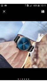 Lindo Relógio Social , Elegante + Brinde