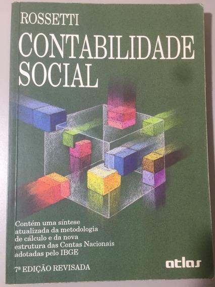 Contabilidade Social - Rossetti