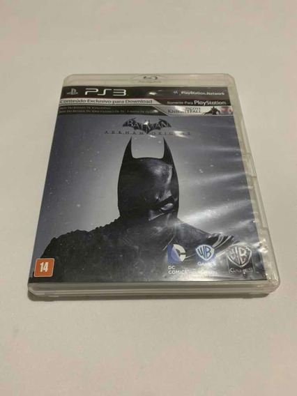 Batman Arkham Origins Playstation 3 Jogo Original Ps3 Game