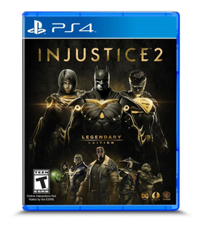 Injustice 2 Legendary Ps4 Edition Nuevo