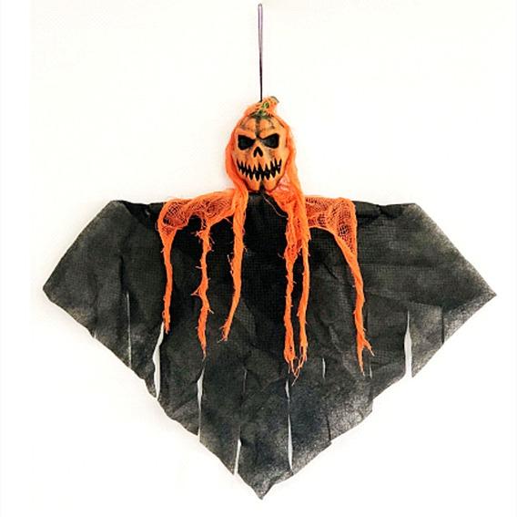 Colgante Calabaza Negro Halloween 2019