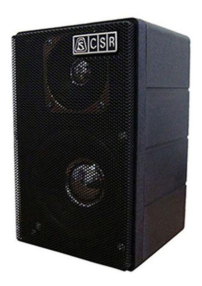 Kit 2 Caixa Acústica Csr 75m Preta Som Ambiente 40w - Nfe