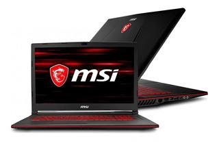 Notebook Msi Gl73 I5 9300h 512gb 16gb Gtx1650 4gb 17.3¨