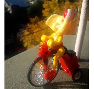 Juguete Muñeco - Elefante Circo En Bicicleta - Vehículo