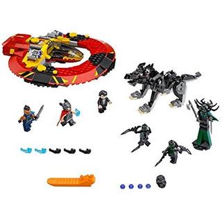 Lego Super Heroes La Última Batalla Por Asgard 76084 Kit De