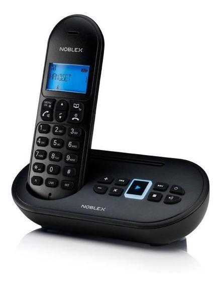 Teléfono inalámbrico Noblex NDT4500 negro