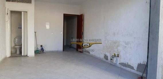 Salão Para Alugar, 33 M² Por R$ 1.300,00/mês - Vila Antonieta - São Paulo/sp - Sl0194