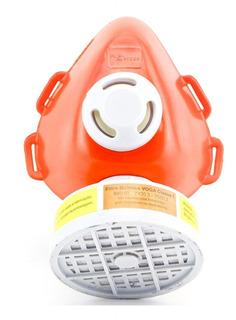 Mascara Respirador 1/4 Produto Quimico Pintura Cabeleira Epi