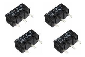 Microswitch D2fc-f-7n(10m) - Kit 4pcs - Mouse Razer E Outros