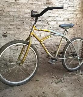 Bicicleta Playera Rodado 24 Marca Futura Unisex