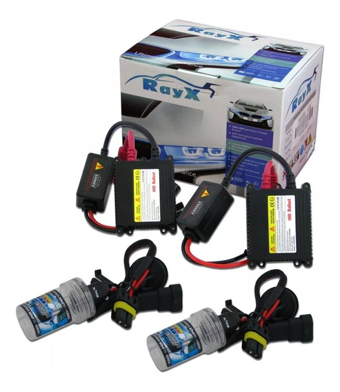 Kit Xenon Lampada H4/2 8000k Slin Ray X Full