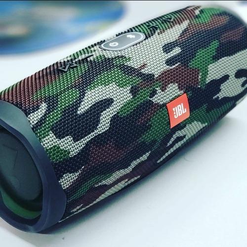 Alto-falante Jbl Charge 4 Portátil Bluetooth Squad Bateria