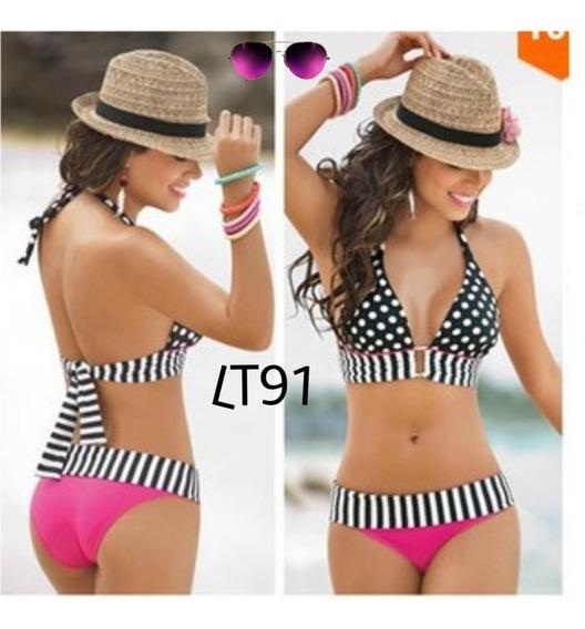 Hermoso Traje Baño Juvenil,verano Bikinis Ropa Para Playa
