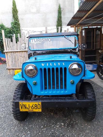 Jeep Willys Modelo 1946-llantas Nuevas