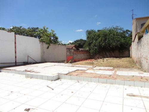 Imagem 1 de 1 de Terreno À Venda, 300 M² Por R$ 195.000,00 - Nossa Senhora De Fátima - Piracicaba/sp - Te0845