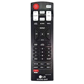 Controle Som Lg Sound Bar Nb2430a Nb2431a - Original