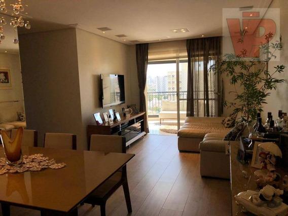 Apartamento Com 3 Dormitórios Com Varanda Gourmet À Venda, 90 M² Por R$ 840.000 - Vila Prudente - São Paulo/sp - Ap3809