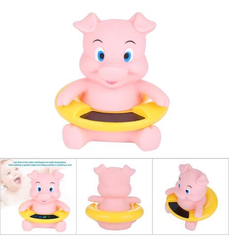 Imagen 1 de 8 de Termómetro De Baño Flotante Para Bebé, Medida De Seguridad,