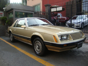 Ford Mustang Gt 1980 Impecable Factura Original Automatico