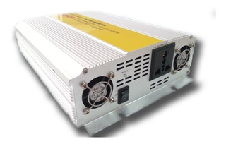 Conversor Inversor Energia 1000w Auto Lancha Barco 12v 220v