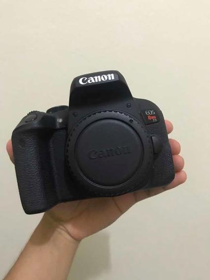 Câmera Canon T7i (800d) + Lente Yongnuo 50mm