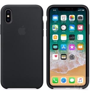 Case Protector De Silicona Para iPhone X Original Apple