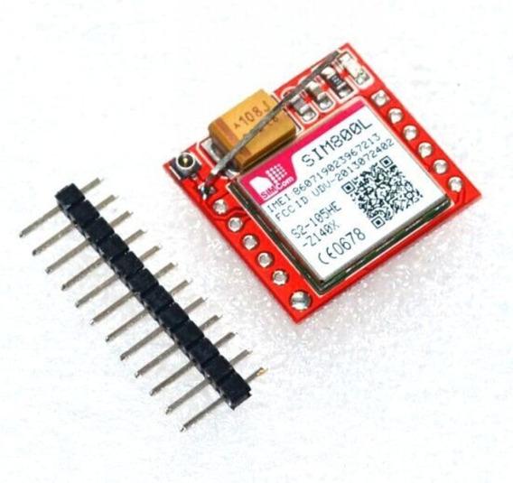 Módulo Gprs Gsm Sim800l Sim800 Com Antena Arduino Com Nota