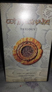 Video Cassete Whitesnake Trilogy