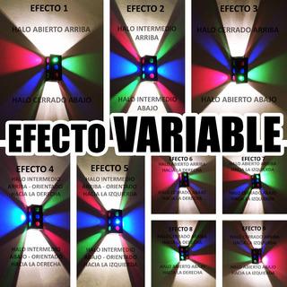 Difusor Aplique Pared Interior Luz Regulable 9 Efectos Fx