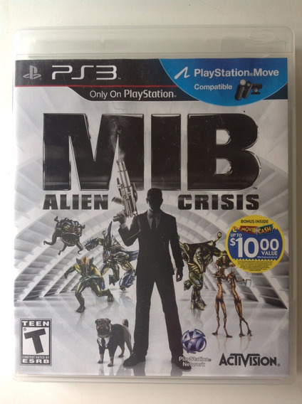 Ps3 Mib Alien Crisis - Compatible Move