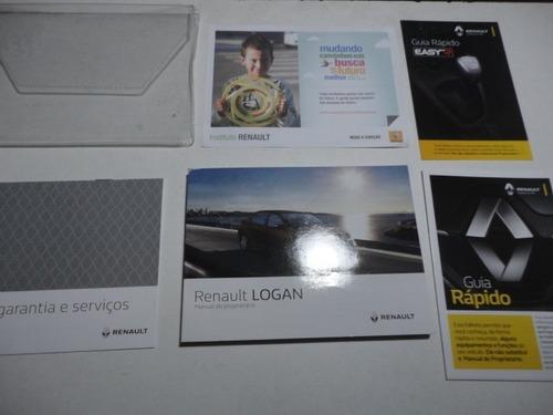 Manual Renault Logan 2018 2019 Original Proprietário Flex