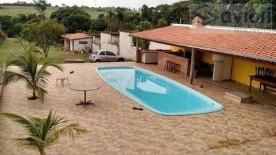 Chácara Para Venda Em Mogi Mirim, Cachoeira, 4 Dormitórios, 3 Suítes, 5 Banheiros, 10 Vagas - Ch406