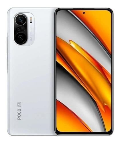 Imagem 1 de 5 de Xiaomi Poco F3 5G Dual SIM 128 GB branco 6 GB RAM