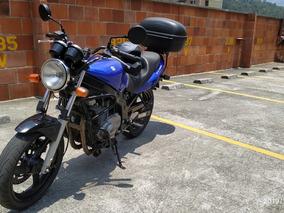 Suzuki Gs500 Azul 2006 Se Entrega A Nombre Del Comprador