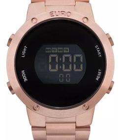 Relógio Feminino Euro Digital Rose Gold - Eubj3279af/4j