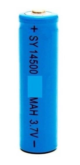 Bateria Recarregável 3,7 V Aa 1200 Mah 14500