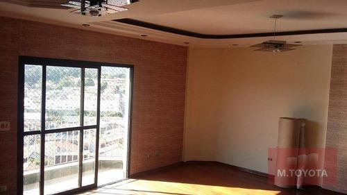 Imagem 1 de 30 de Apartamento Com 3 Dormitórios À Venda, 134 M² Por R$ 650.000 - Picanço - Guarulhos/sp - Ap0067