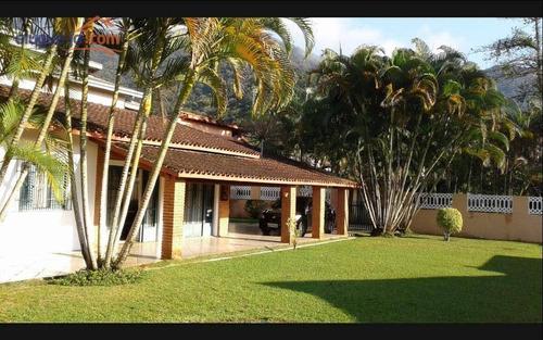 Imagem 1 de 16 de Casa Com 4 Dormitórios À Venda, 220 M² Por R$ 750.000,00 - Lagoinha - Ubatuba/sp - Ca3043