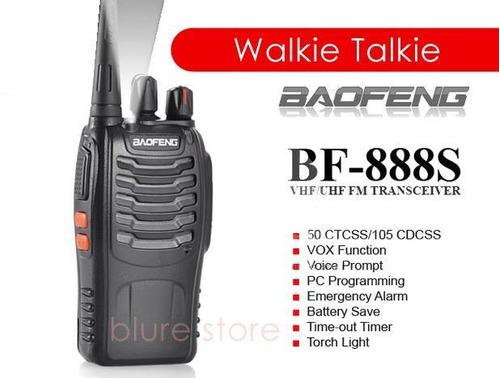 Radio De Comunicacion (1) Baofeng , Walkie Talkie, Bf 888s