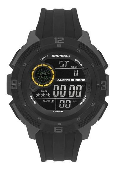 Relogio Mormaii Mo9430ja/8y Lcd-negativo Crono Alarm Timer