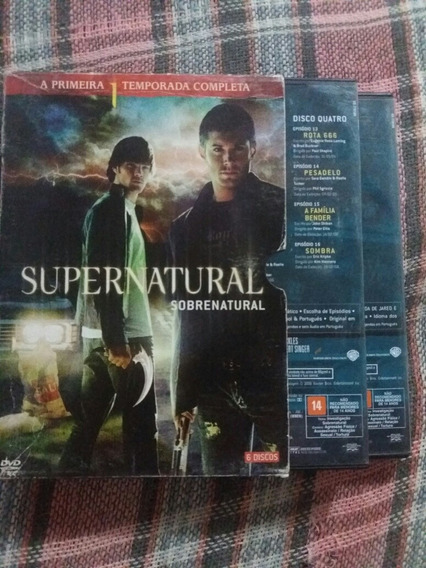 Box Sobrenatural (temporadas 1-3)