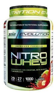 Nitro Whey 1kg - Proteina + Aminoacidos Star Nutrition