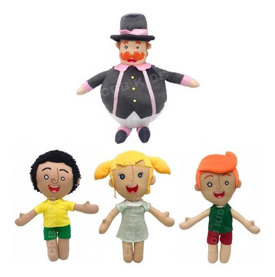 Bonecos Mundo Bita 40cm - Tito - Dan E Lila