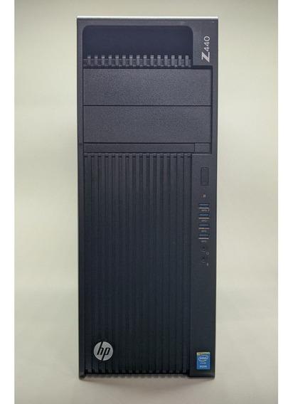 Cpu Hp Z440 Xeon 32gb 480gb Ssd + 500gb Hd + Quadro + Frete