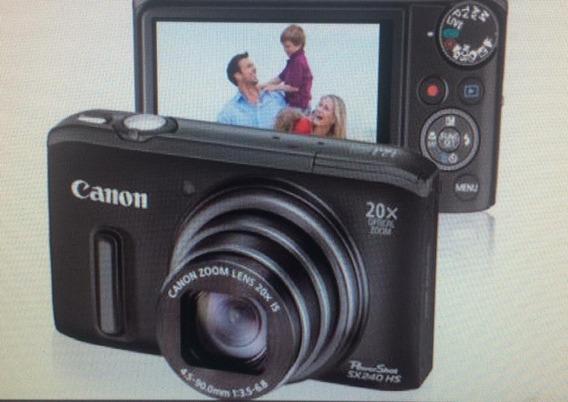 Câmera Digital Canon Powershot Sx240 Hs