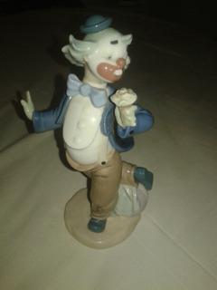 Porcelana Lladro Figura Payaso Original