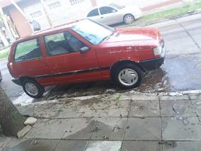 Fiat Uno 1.4 S Confort 3 P 1998 Rojo Sin Detalles Titular !