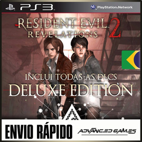 Resident Evil Revelations 2 + Todas As Dlcs - Jogos Ps3 Psn